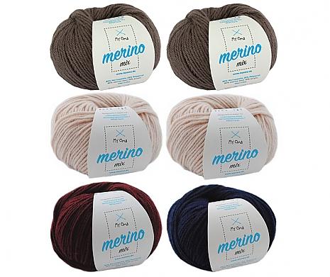Merino Mix Wollmix Morgenland L