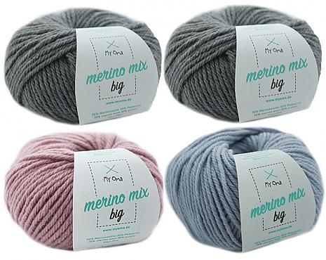 Merino Mix big Wollmix Wintermorgen S