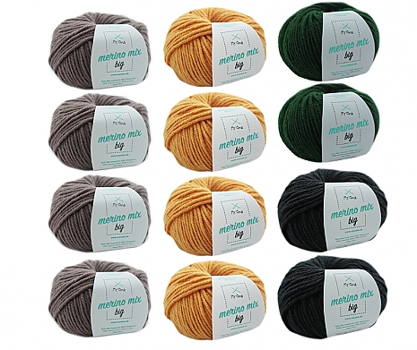 Merino Mix big Wollmix Teestunde