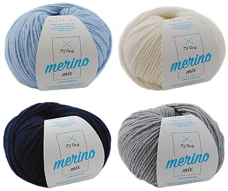 Merino Mix Wollmix Winterzauber S