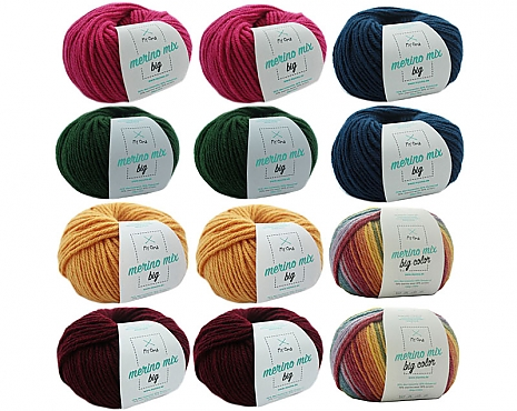 Merino Mix Big Wollmix Farbenfest L