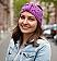 Oma Bibis Turban-Stirnband Größe L | lila