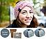 DIY Stirnband Wintertraum eisblau | ohne Nadeln