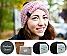 DIY Stirnband Wintertraum granit | ohne Nadeln