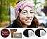 DIY Stirnband Wintertraum kaminrot | ohne Nadeln