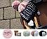 DIY Kinder-Ohrenklappenmütze Cupcake inkl. Nadeln | marine (Fb 3409), schneeweiß (Fb 3100), puder (Fb 3731)