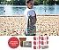 DIY Rucksack Wellenreiter strawberry shake (Fb 404) und naturweiß (Fb 100)   ohne Nadeln