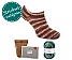 Oma Siggis Sneakersocken waldgrün (Fb 331) | ohne Nadeln