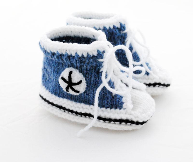 Socken Babys Baby Chucks Oma Ingrid Von Myoma
