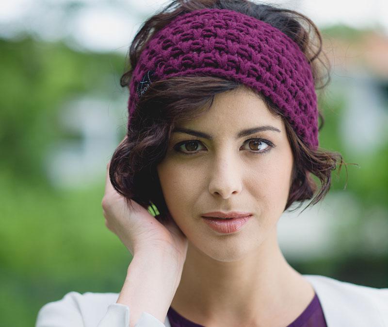 Fantastic Ein Stirnband Muster Gestrickt Vignette - Decke Stricken ...